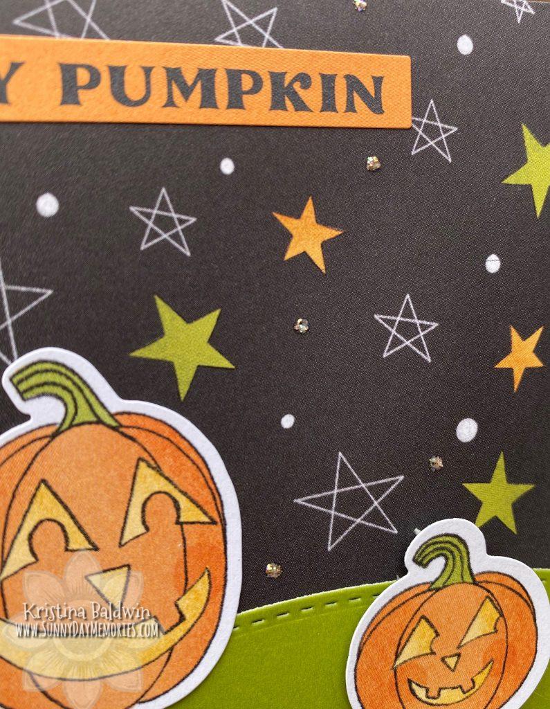 Hey Pumpkin Card Closeup