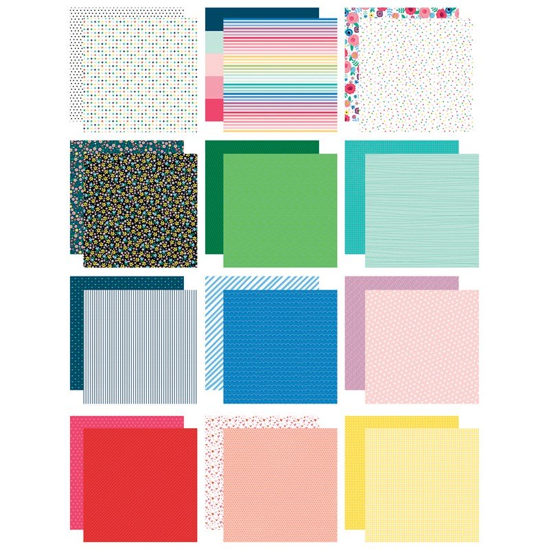 """CTMH 6"""" x 6"""" Bright Stack Paper"""