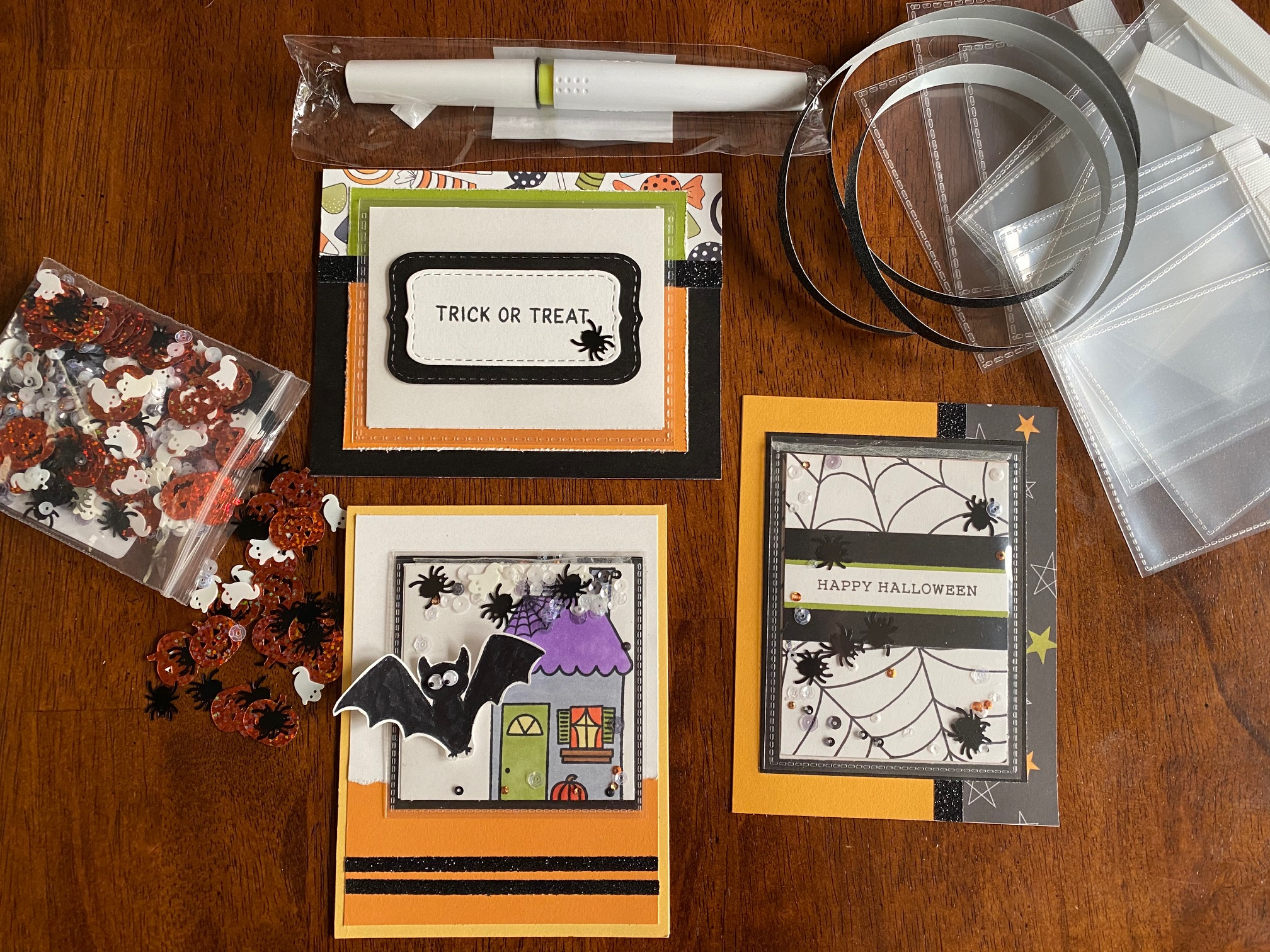 Halloween Flip Flap Card Kit