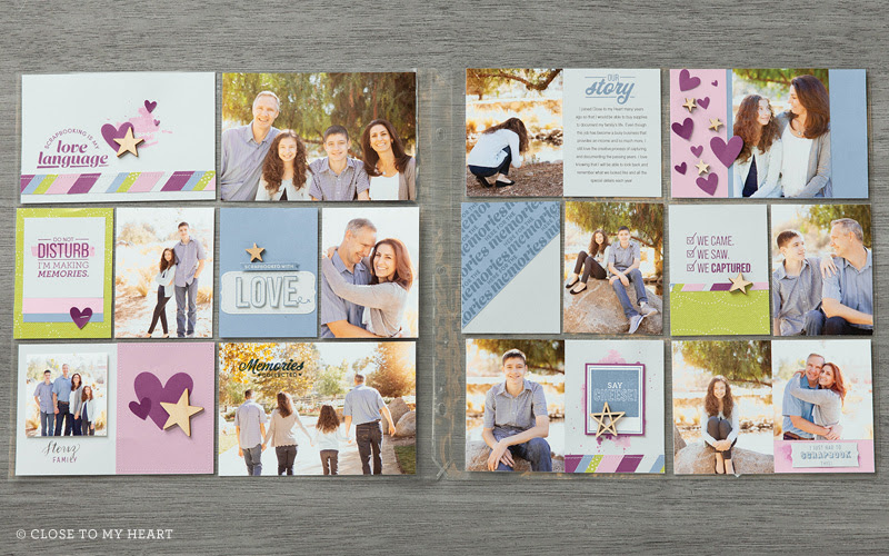 Here for the Memories Pocket Scrapbook