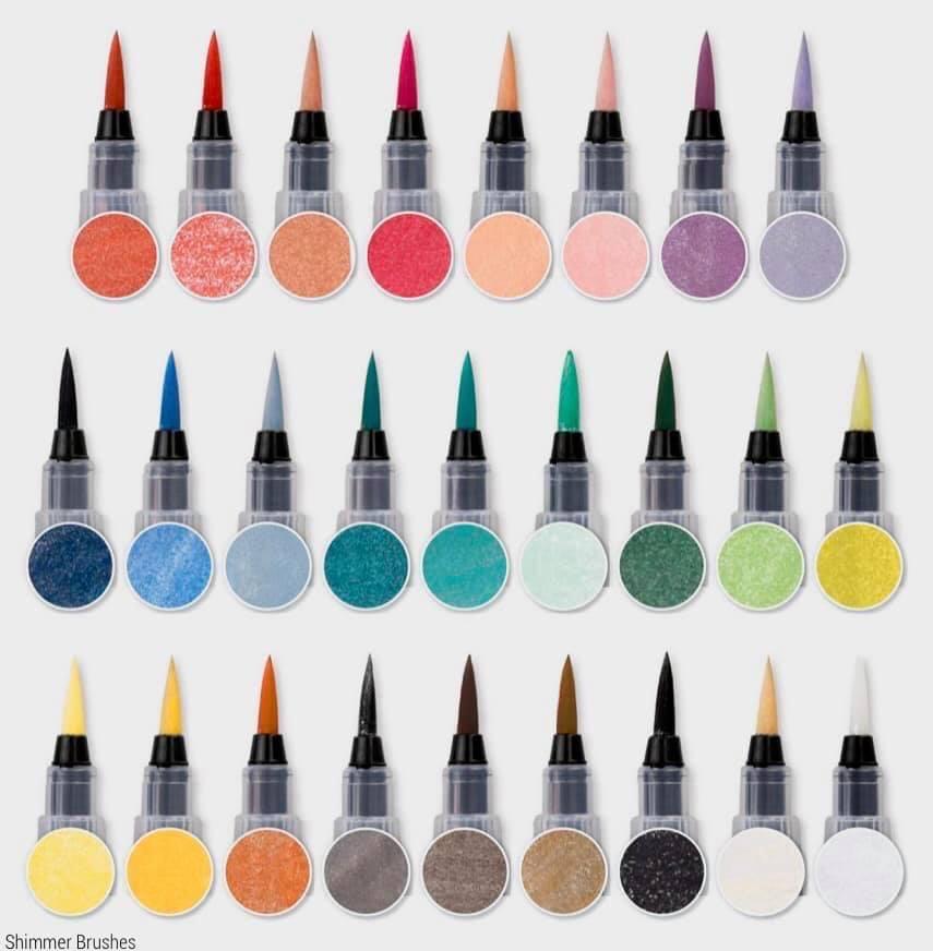 CTMH Shimmer Brushes