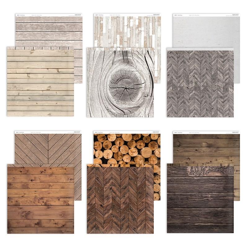 CTMH Wood Grain Paper Pack X8017