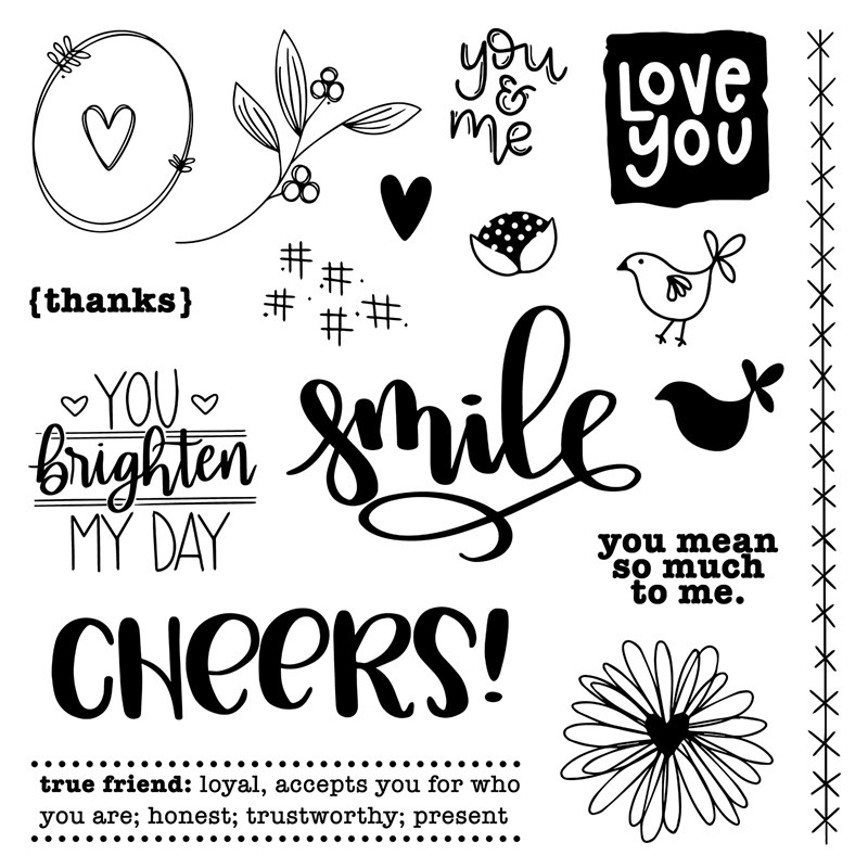 CTMH You Brighten My Day Stamp Set