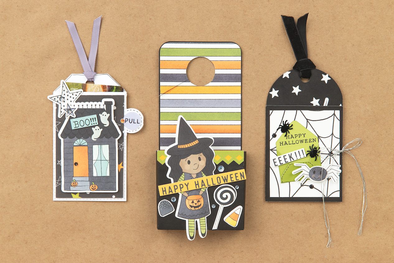 CTMH Got Candy Halloween Tags