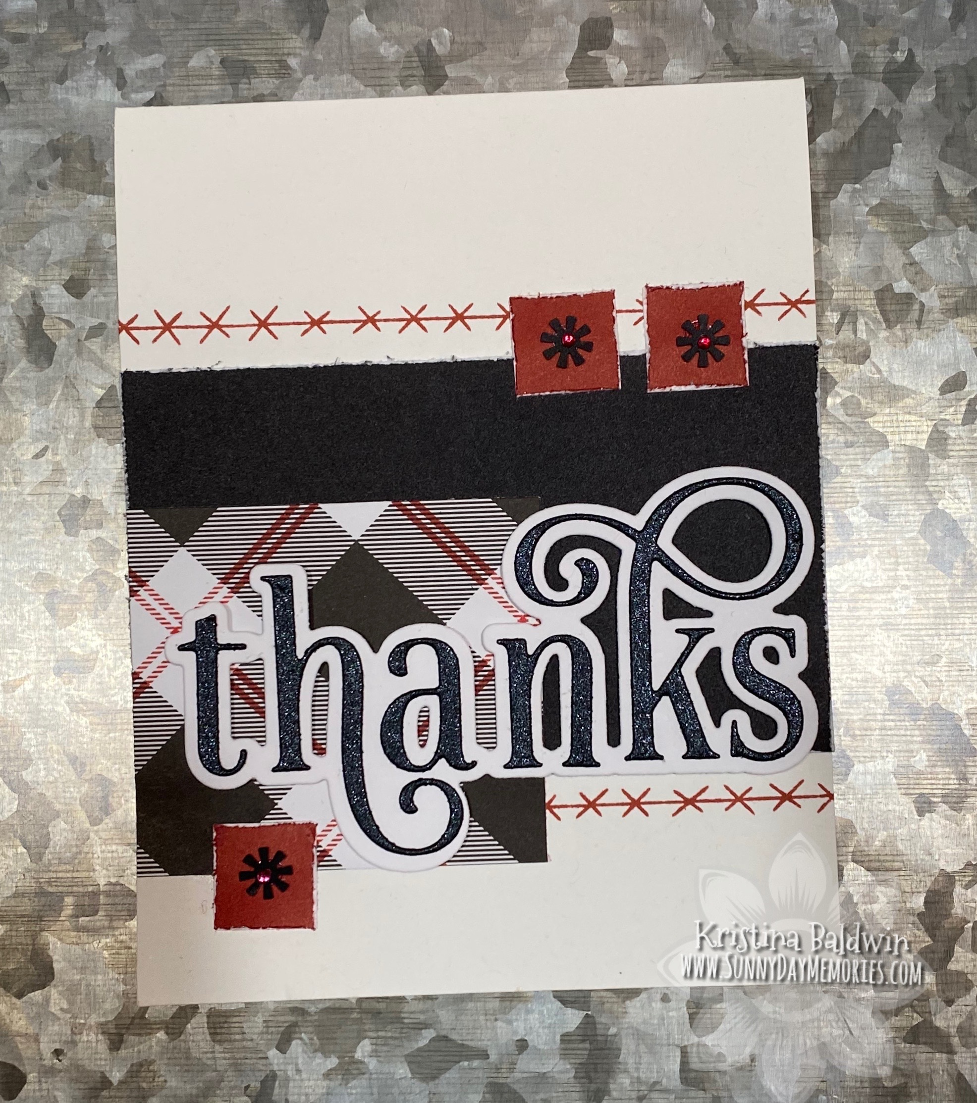 Handmade Thanks Card