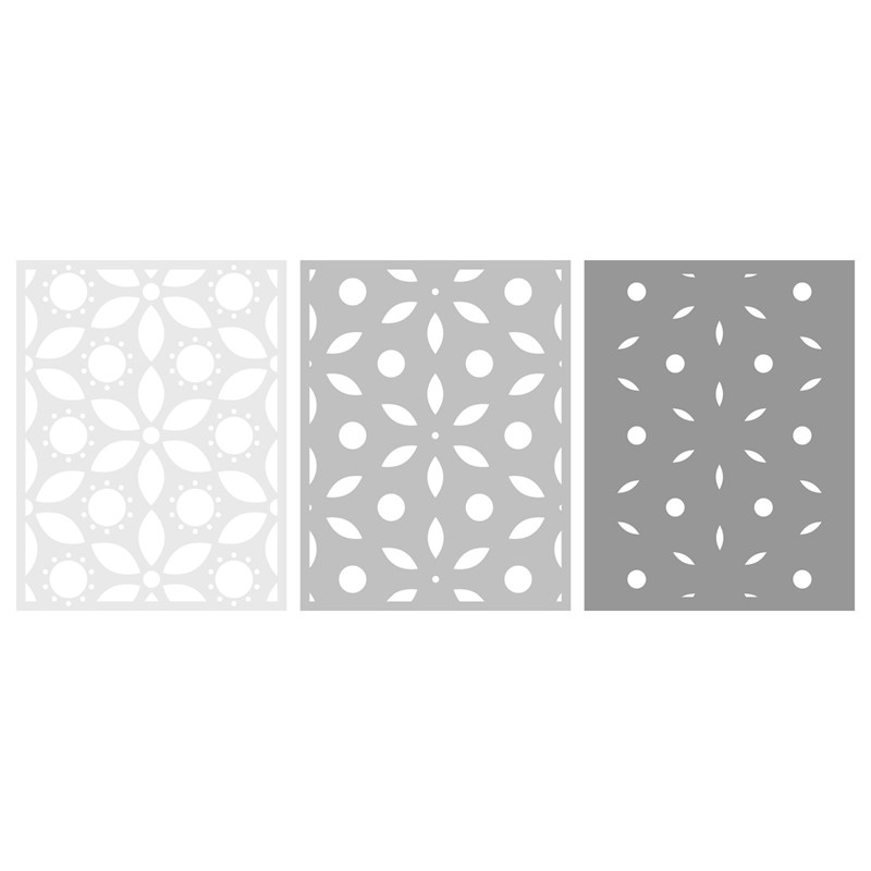 CTMH Layered Floral Backgrounds Thin Cuts