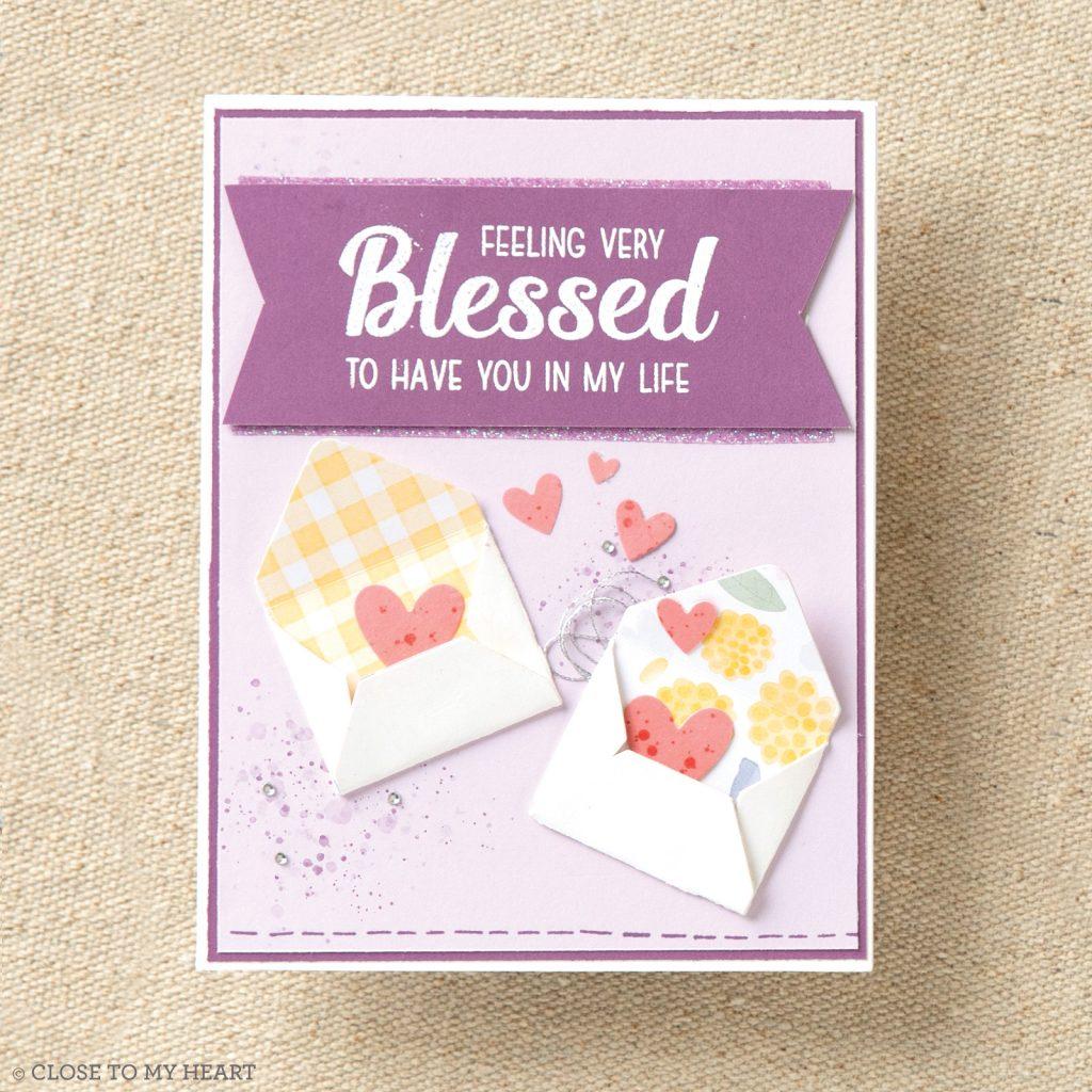 CTMH Mini Envelope Die Card