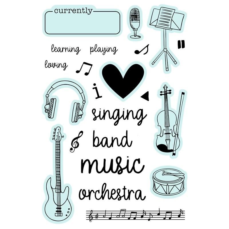 CTMH Musical Harmony Stamp Set