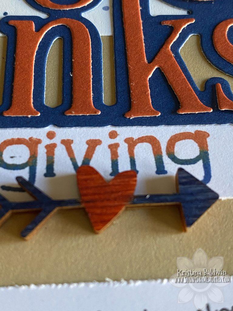 Thanksgiving Layout Closeup