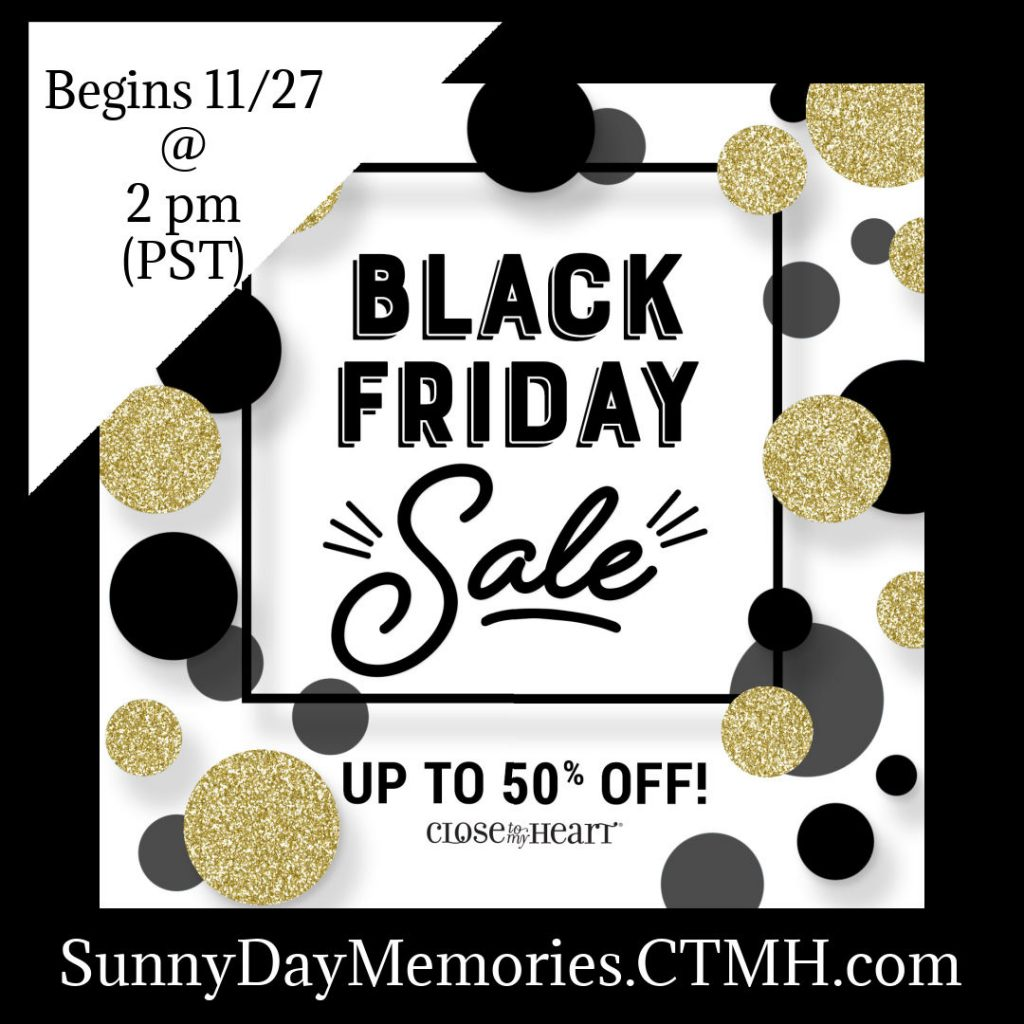 CTMH Black Friday Sale