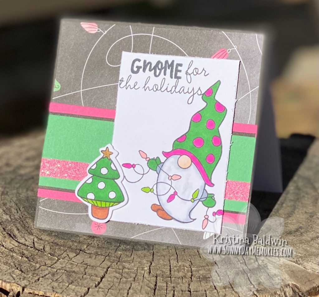 Adorable Gnome Holiday Card
