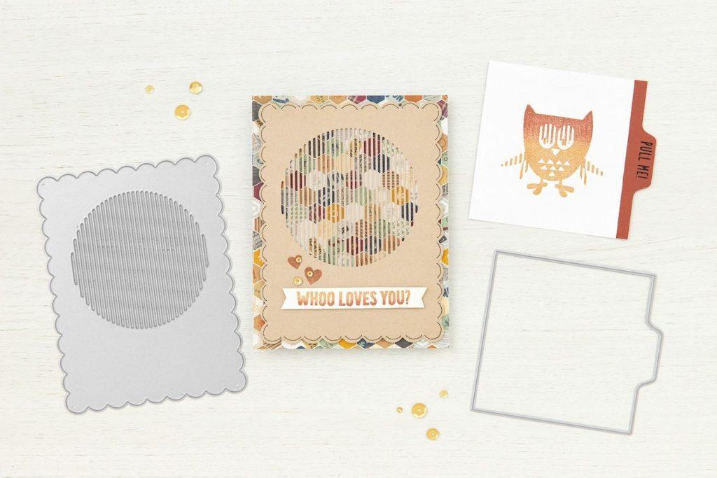 CTMH Owl Animation Card