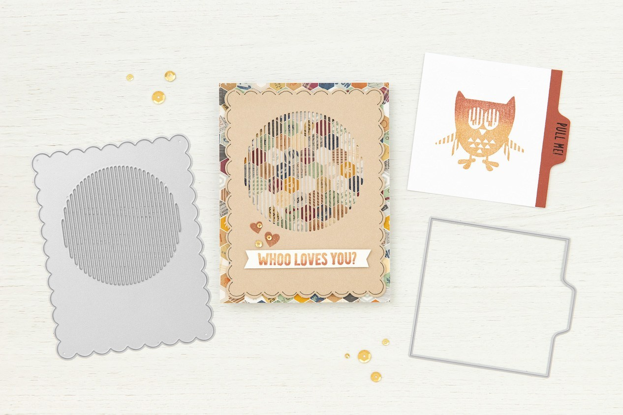 CTMH Seasons in Motion Owl Card