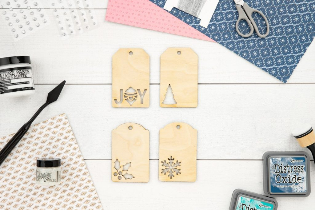 CTMH DIY Ornaments with Cutouts