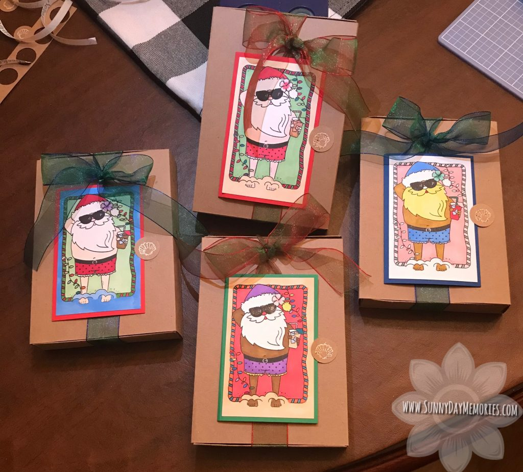Beachside Greetings Gift Box with Card