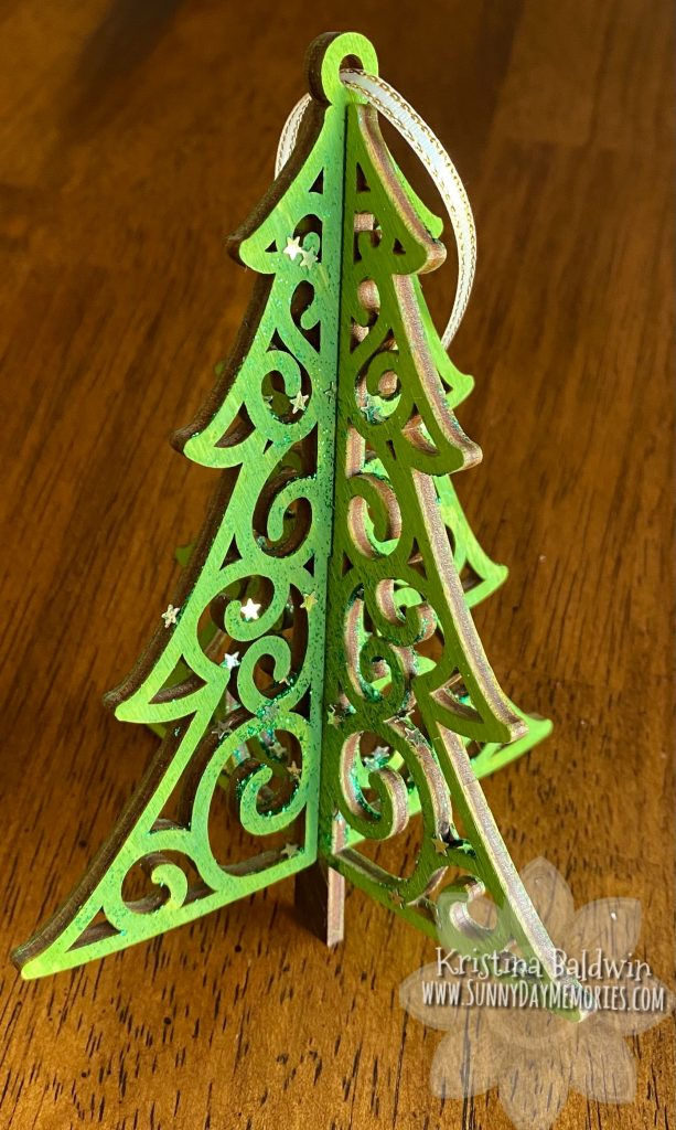 A 3-D Wood Tree Ornament for National Christmas Tree Day