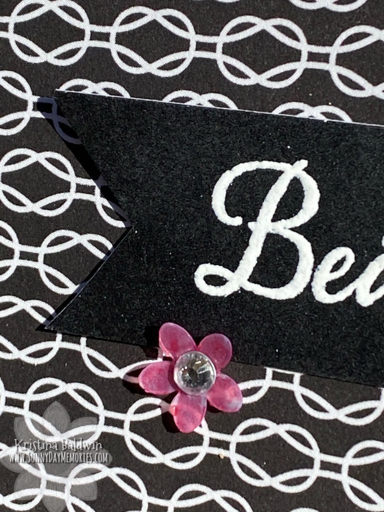 Lattice Card Flower Closeup