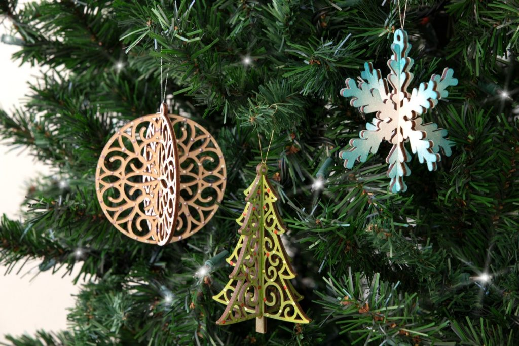 CTMH DIY Tree Ornaments