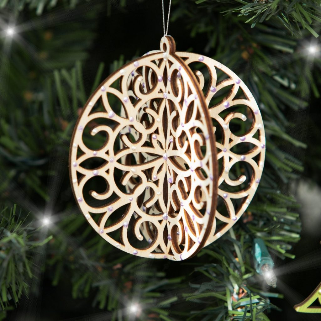 Sample CTMH DIY Round Ornament