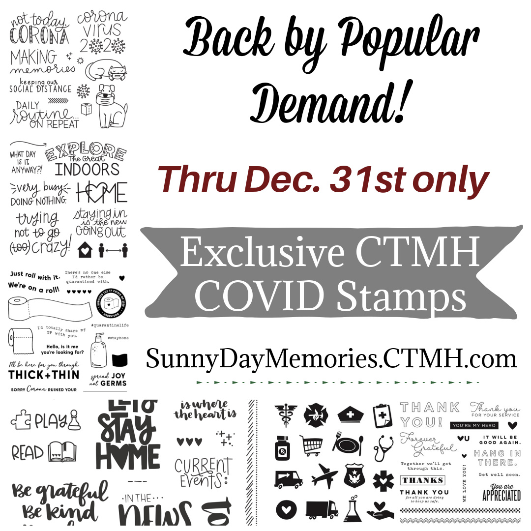 CTMH COVID Stamps are Back