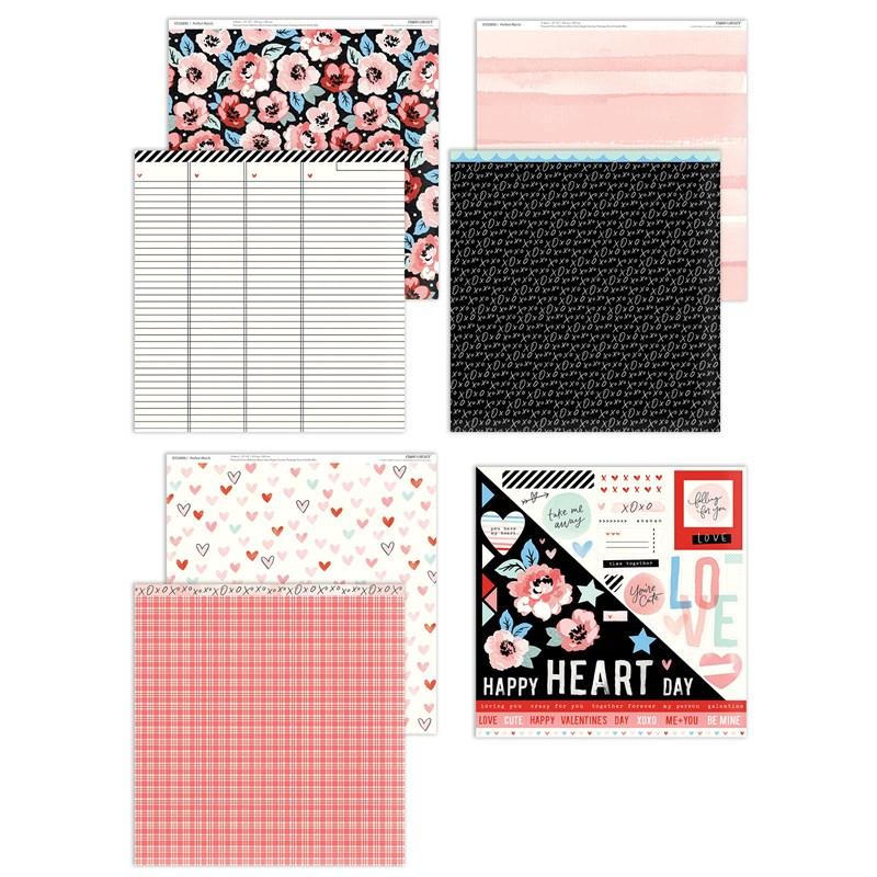 CTMH Perfect Match Paper + Sticker Sheet