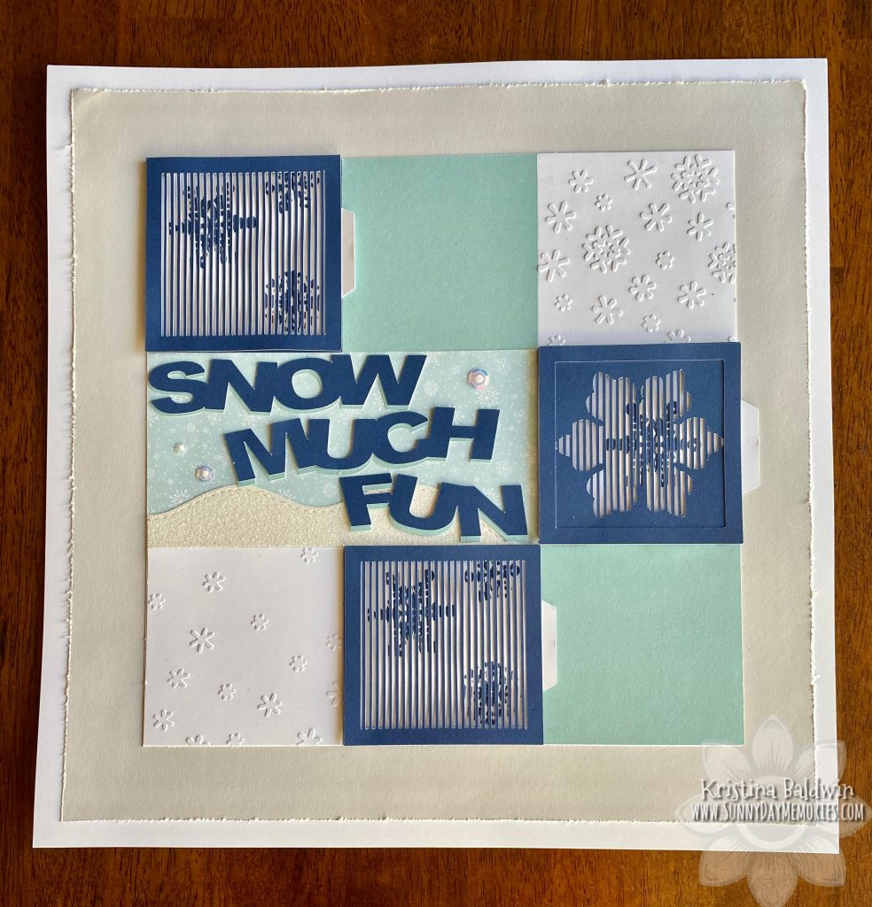 Snow Much Fun Animated Layout