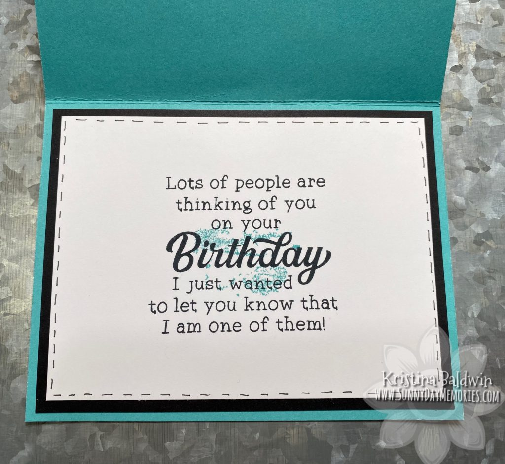 Inside a Birthday Card Perfect for Anyone