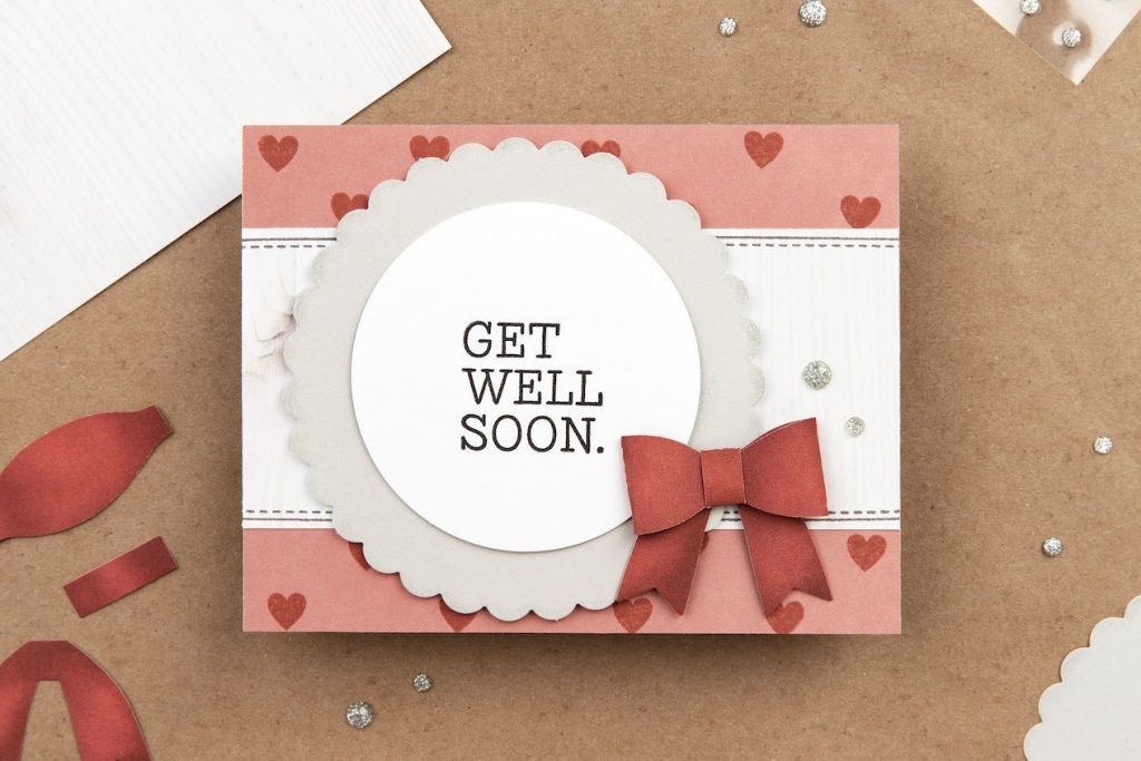 CTMH Home Sweet Home Get Well Card