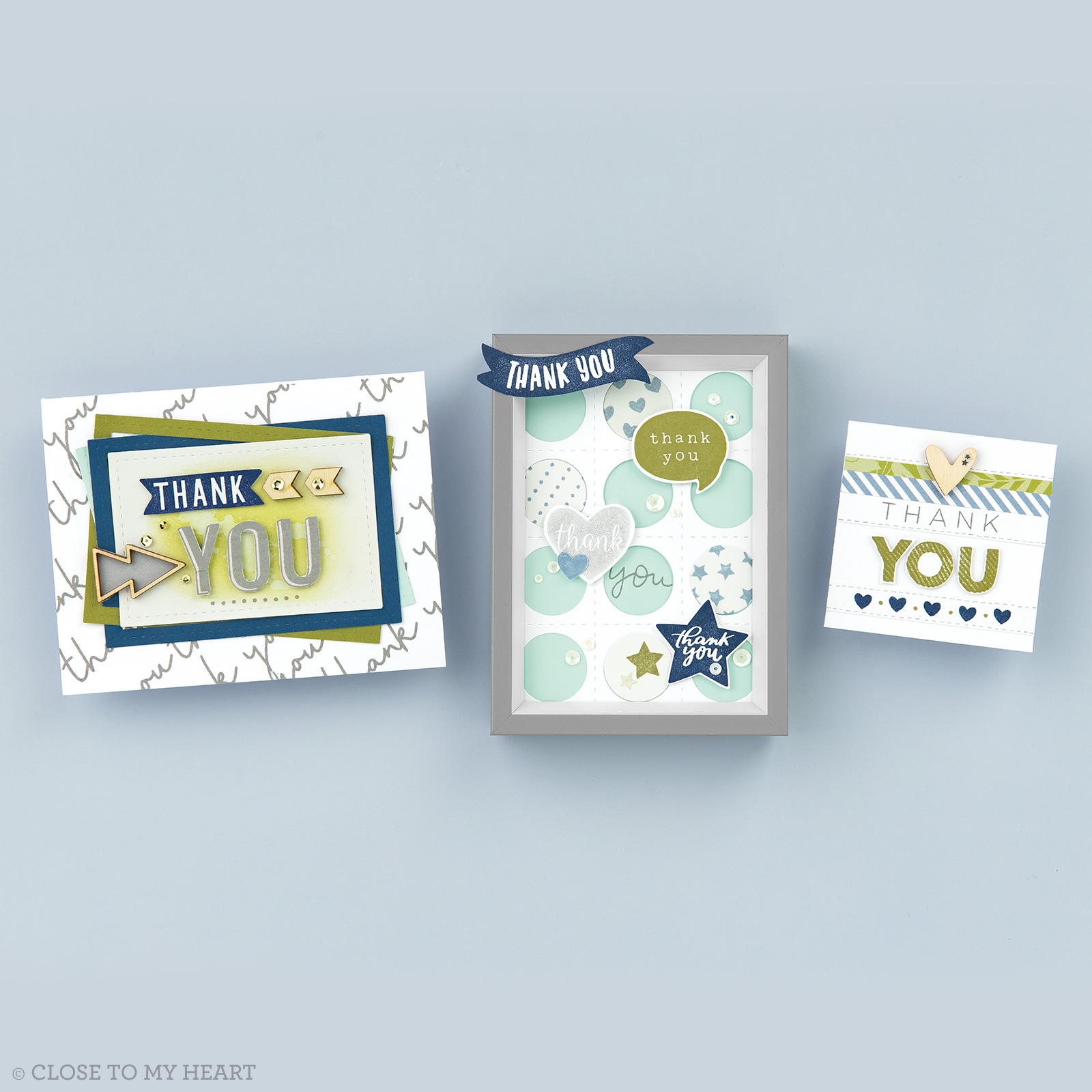 Gratitude Projects Created with Every Thank You Stamp Set