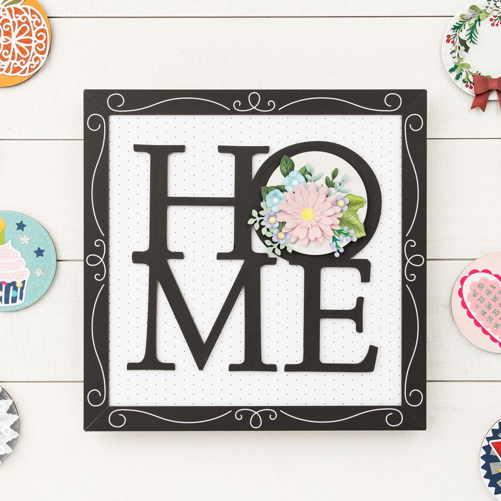 National Papercrafting Month Home Sweet Home Special