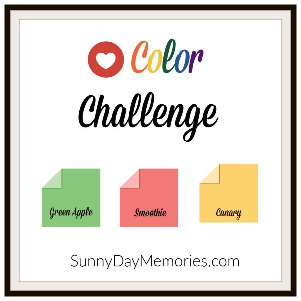 SunnyDay Memories February 22, 2021 Color Challenge