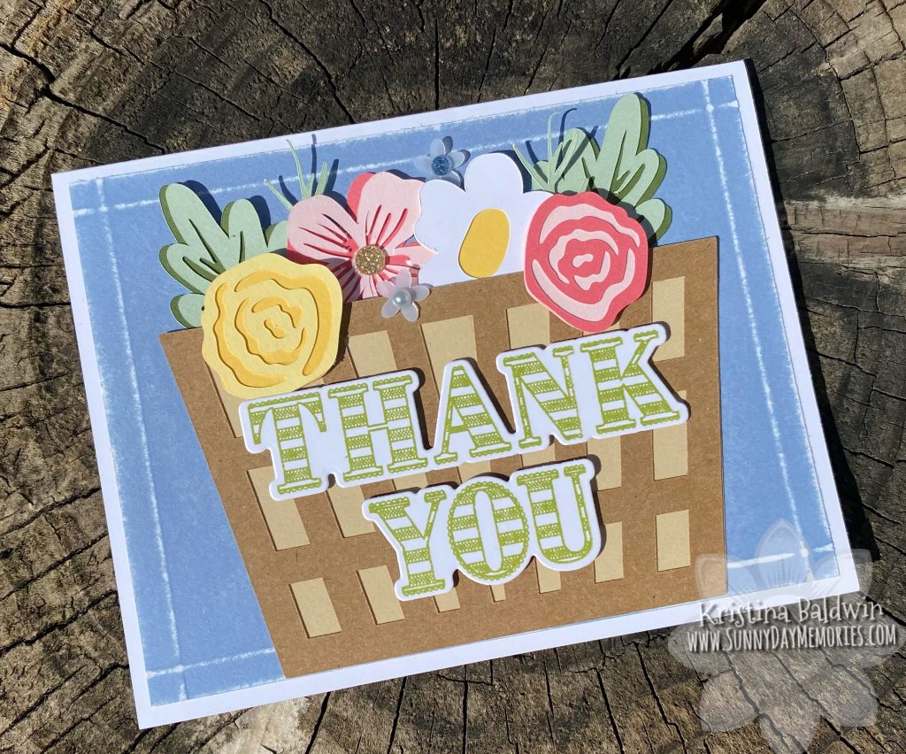 Patterned Paper with Coordinating Cricut Collections