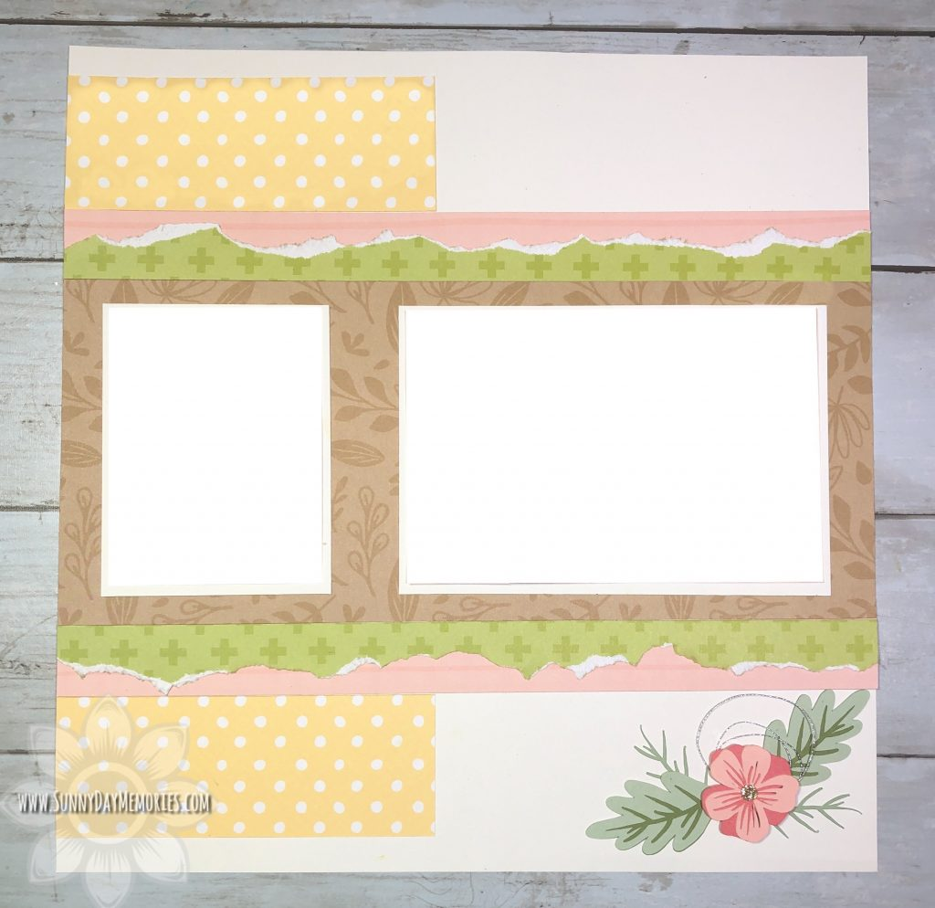 CTMH Huntington Pattern Right Page