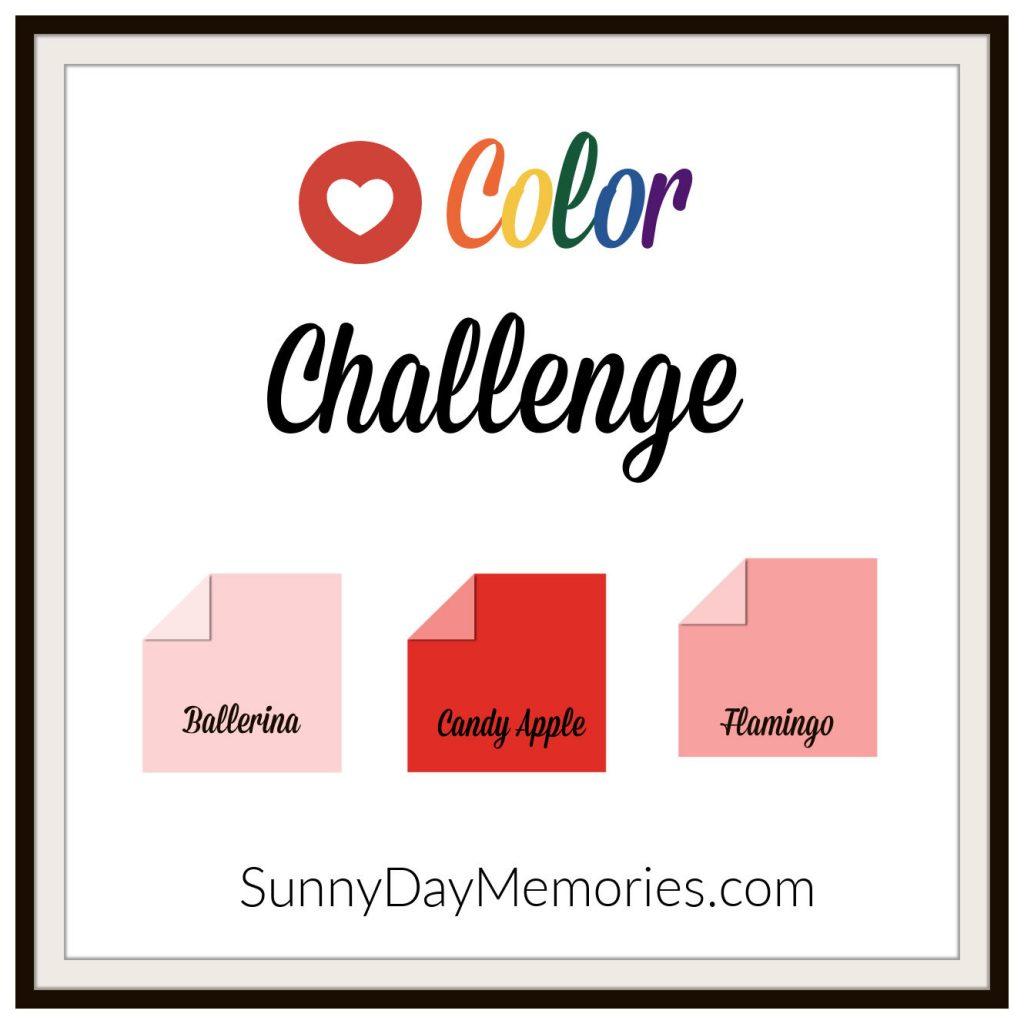 SunnyDay Memories February 8, 2021 Color Challenge