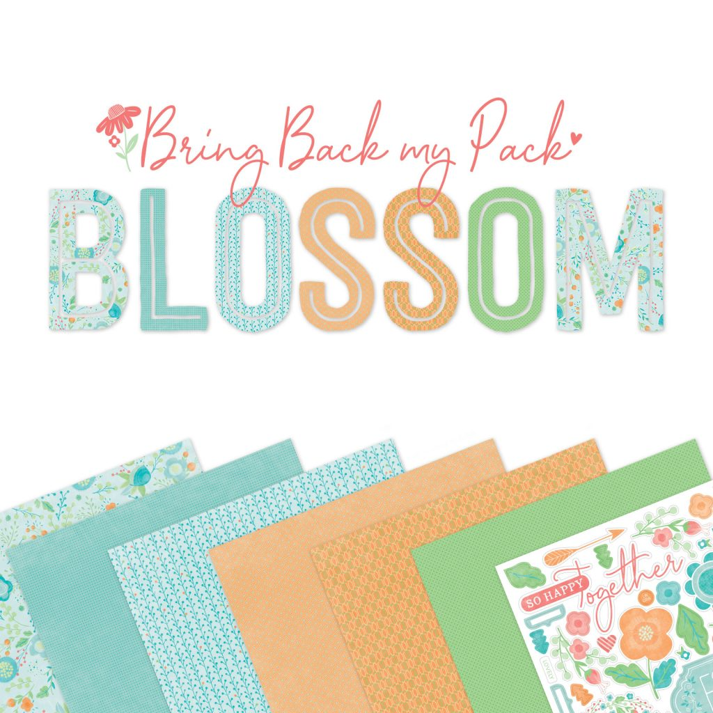 CTMH Bring Back My Pack--Blossom Special