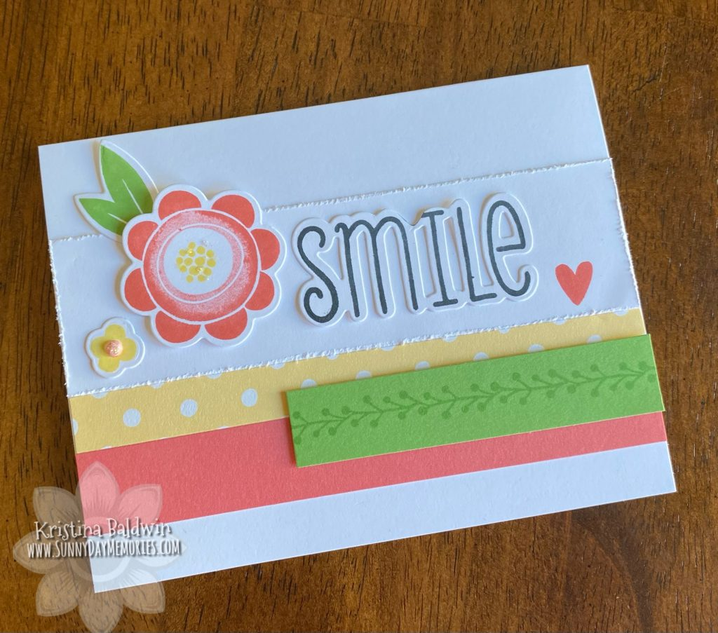 Cherished Blossoms Smile Card