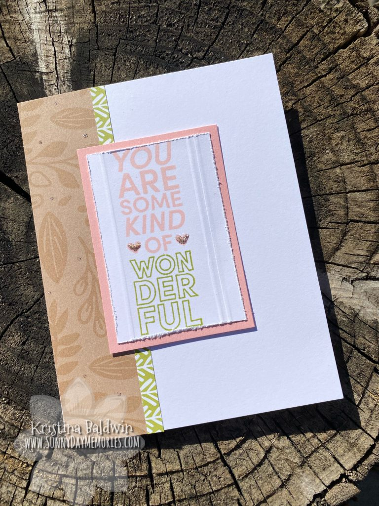 CTMH Some Kind of Wonderful Card