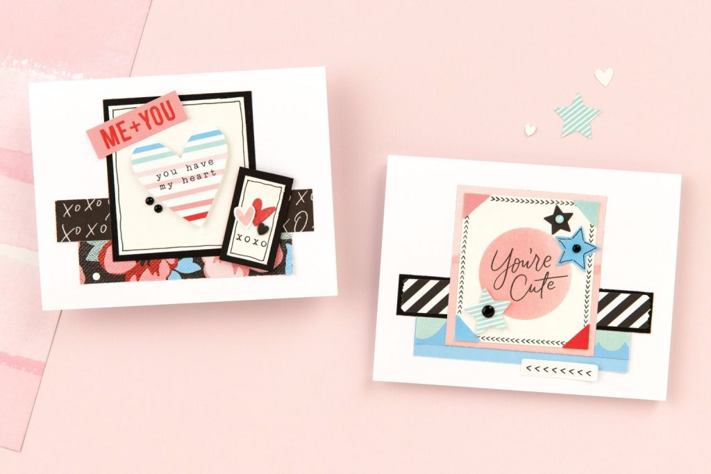CTMH Valentine Card Samples with Perfect Match Collection