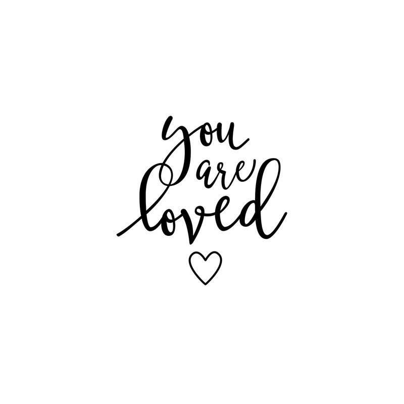 CTMH You Are Loved Stamp Set