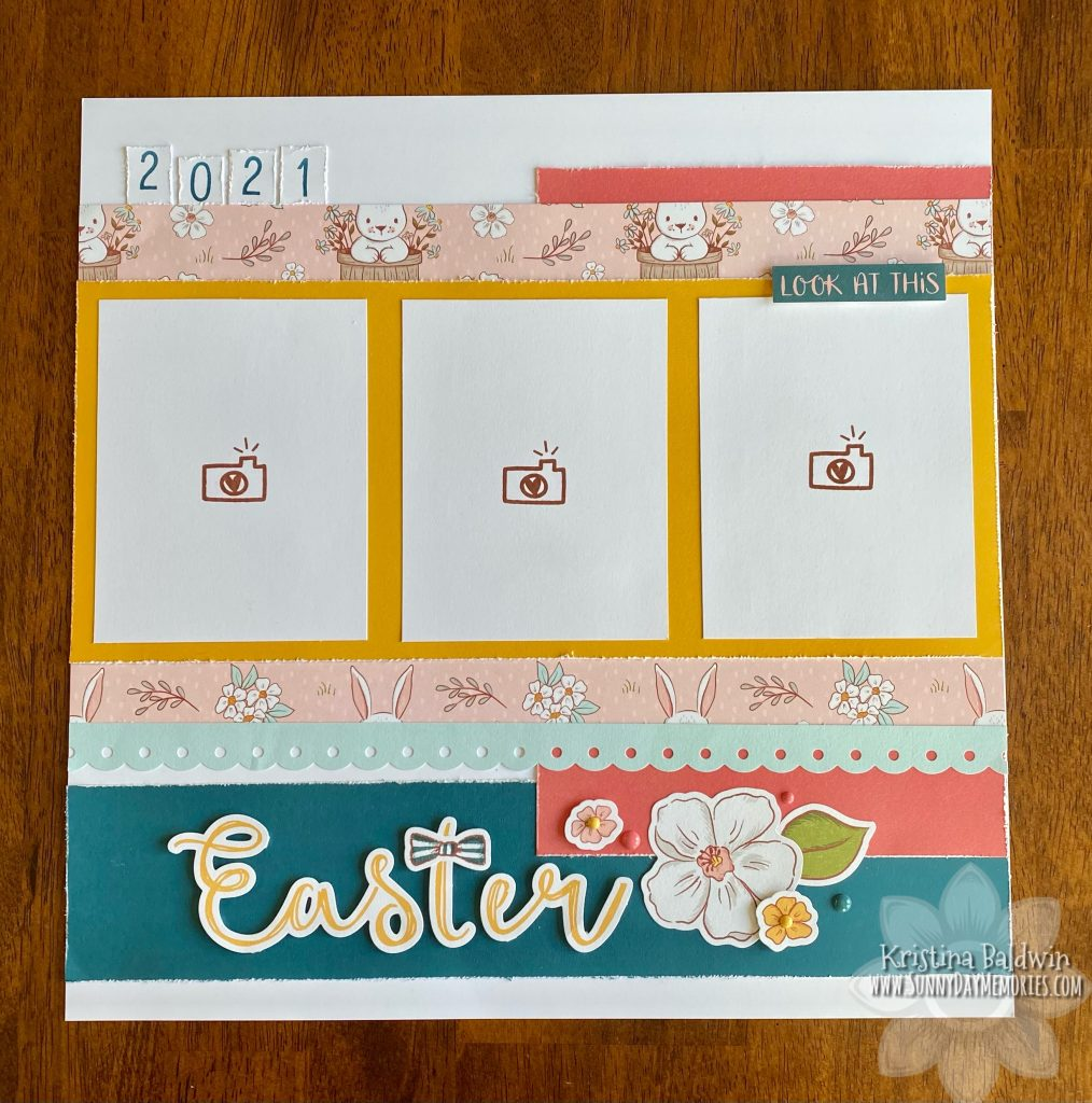 2021 Easter Single Page Layout