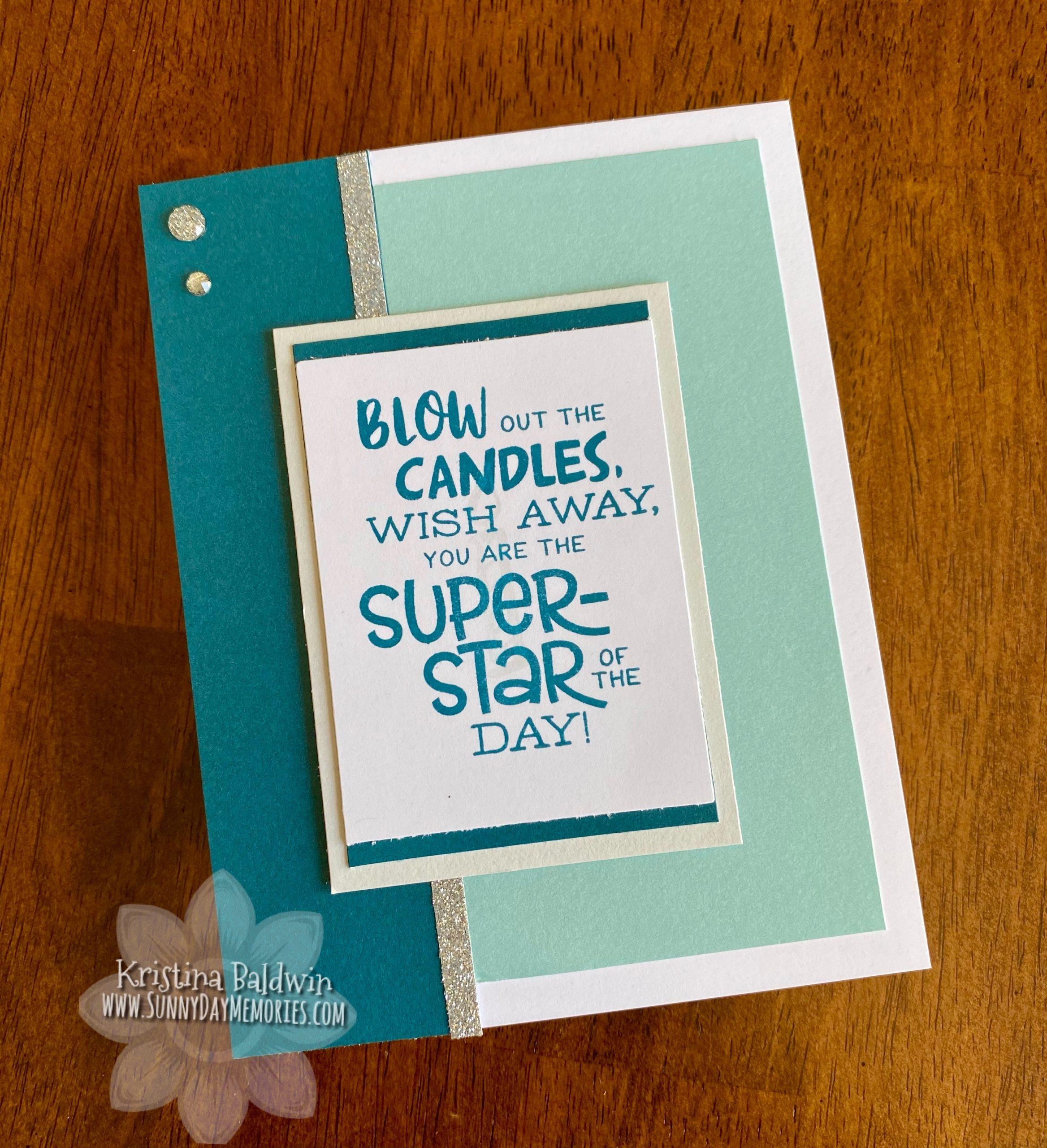 Birthday Super-Star Card