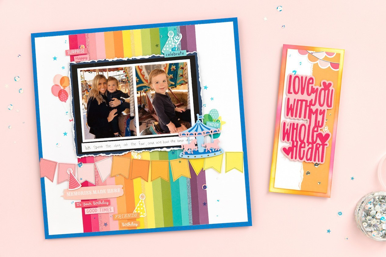 CTMH Two-toned, White Core Cardstock Projects