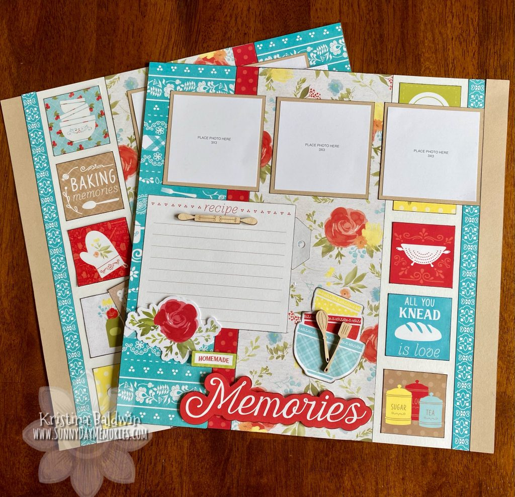 Homemade Memories Layout Kit