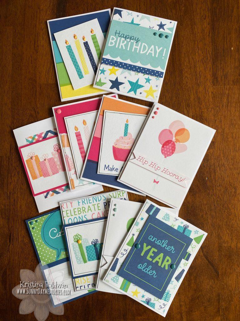 Party Time Celebration Cards Kit