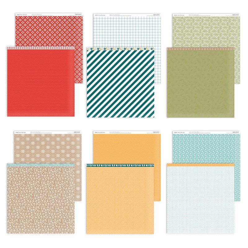 CTMH Mix-in Paper Collection (Mar-Apr)