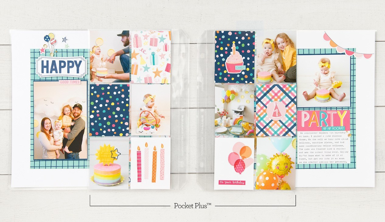 CTMH Scrapbooking with Pocket Pages