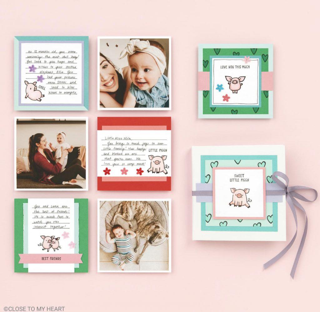 CTMH These Little Piggies Mini Album
