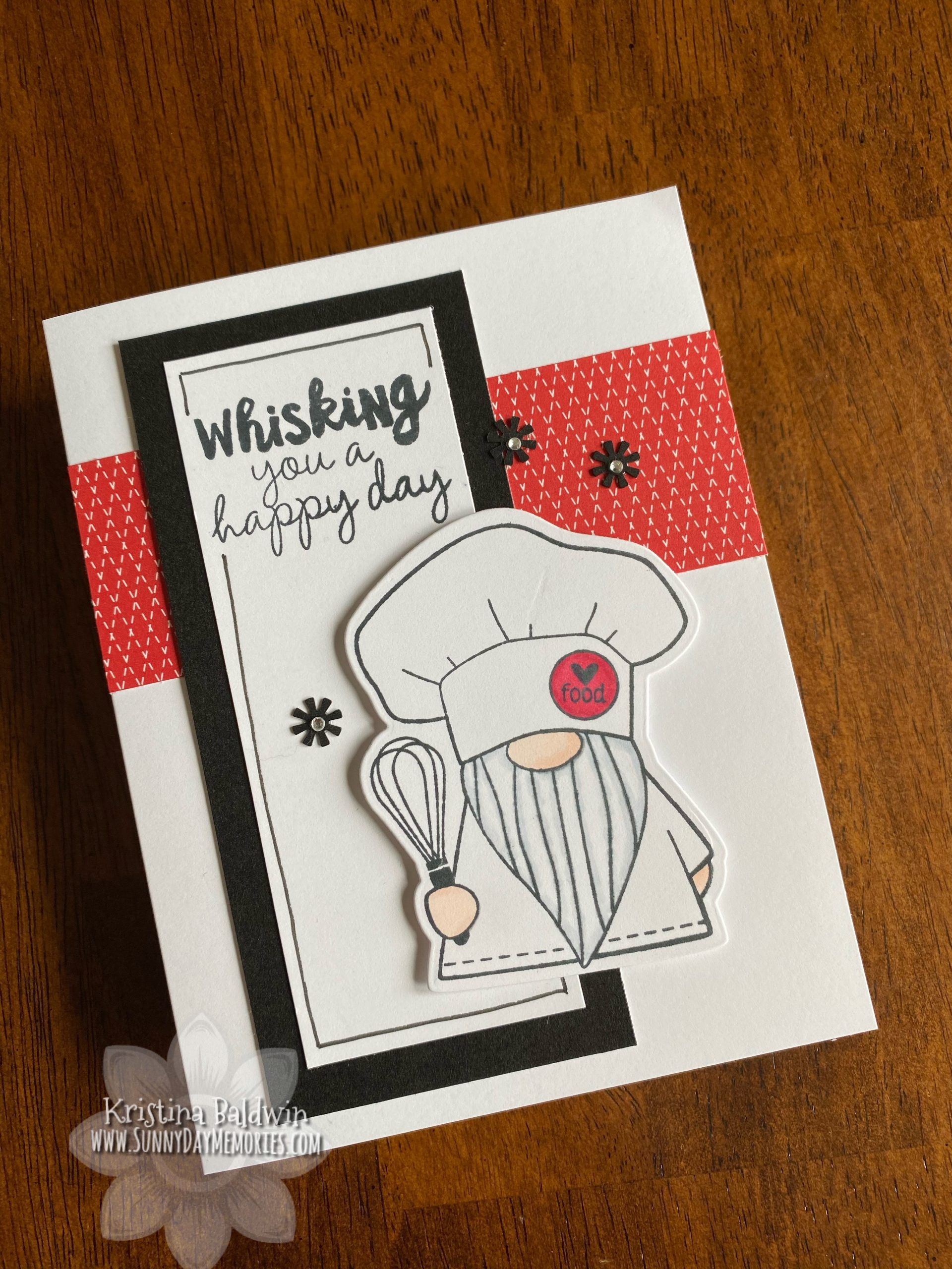 Whisking You a Happy Day Card