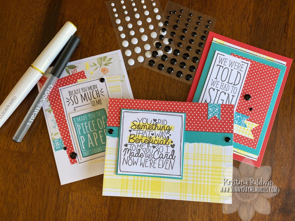 Cheerful Humor Card Kit