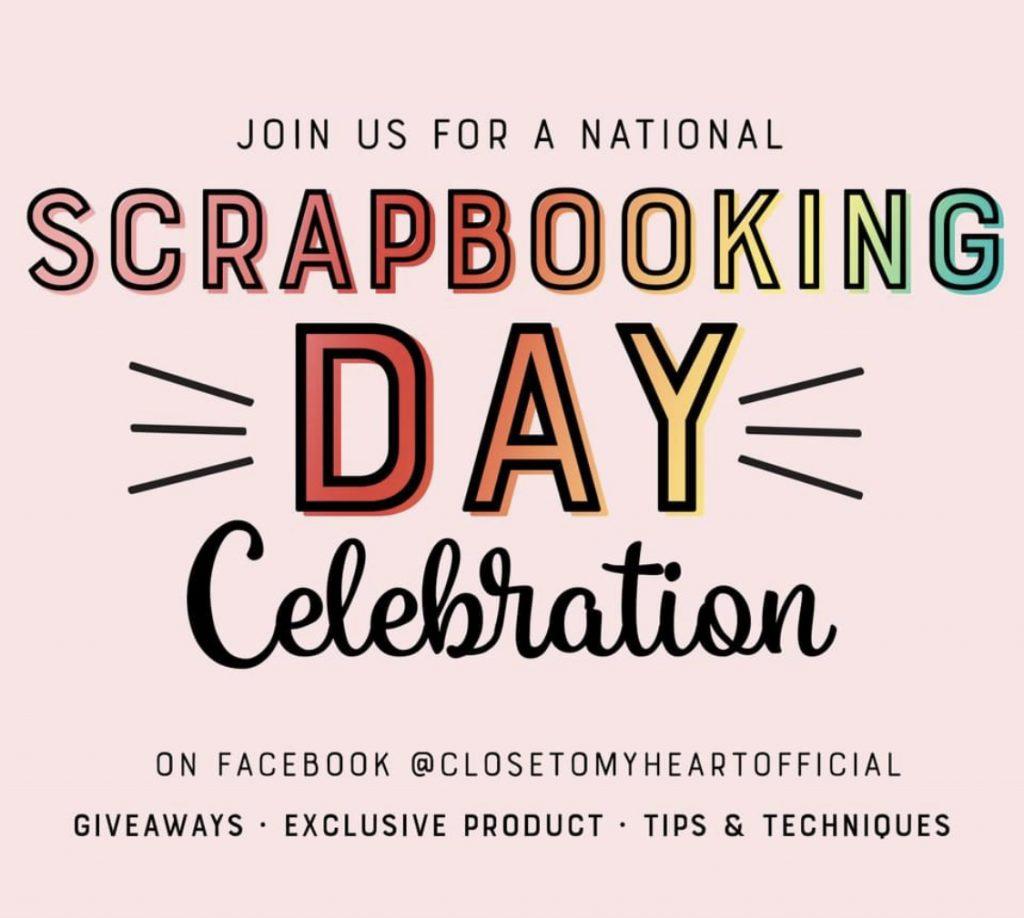 CTMH National Scrapbooking Day Celebration